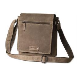 Луксозна чанта за рамо изработена от натурална биволска кожа